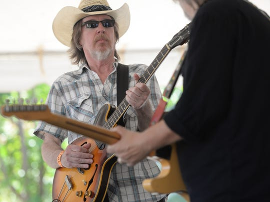 Buddy Flett will perform at Highland Jazz and Blues Festival at Columbia Park Saturday afternoon.