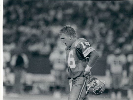 QB Chuck Long. Then: 1991 was his last season in the