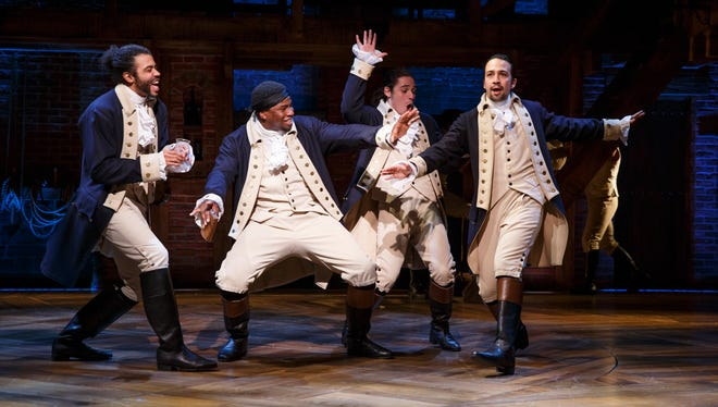"""""""Hamilton"""" is the centerpiece of the 2021-2022 Broadway in Fresno series."""