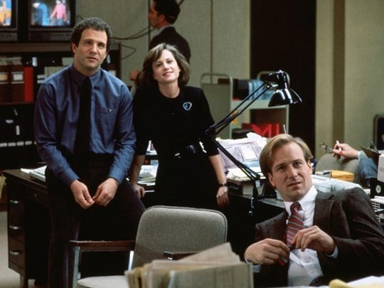 Albert Brooks (left), Holly Hunter and William Hurt