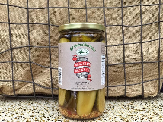 Looking to present someone with a taste of Delaware? Spicy pickles flavored with Dogfish Head beer might make a nifty hostess gift.