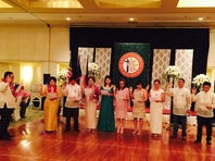 Bataan Association inducts new officers, members