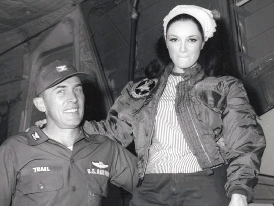 Connie in Vietnam in 1967