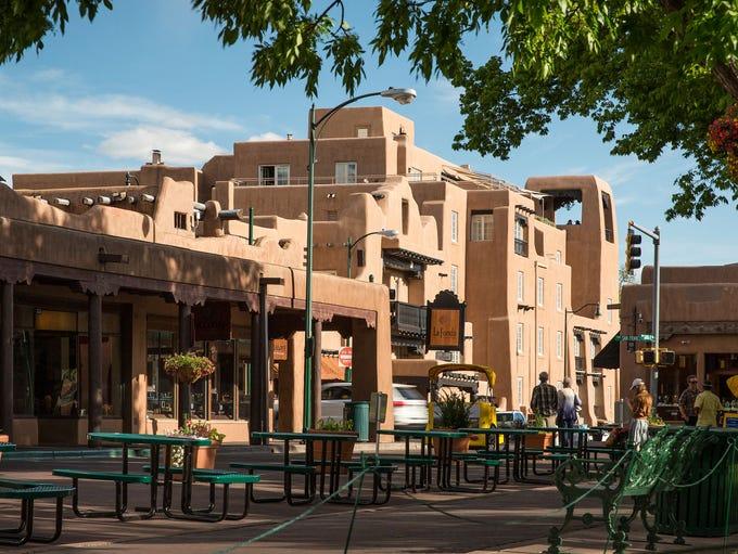 La Fonda on the Plaza: La Fonda's history can be traced