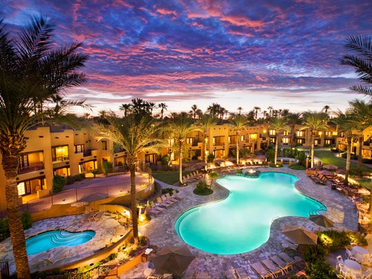 The Oasis pool at the Wigwam resort in Litchfield Park.
