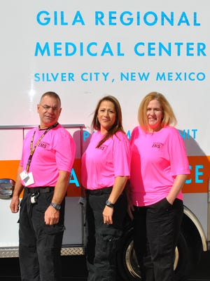 From left are Donald Gorden, Marisol Torres, and Heather Grenci.