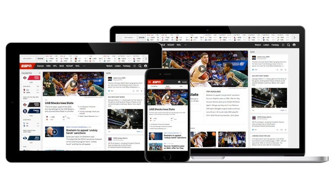 ESPN is launching a new ESPN.com and new apps on the site's 20th anniversary.