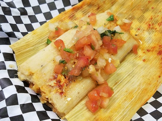 At the Taquiera Company, enjoy a handmade tamale with