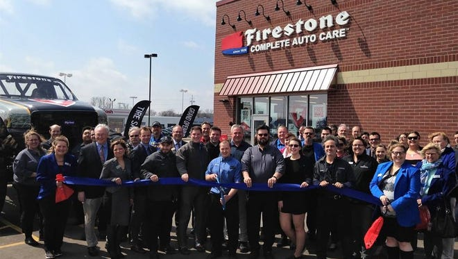 Sheboygan Firestone Complete Auto Care hosted their ribbon cutting to celebrate the grand opening of their business on April 12.
