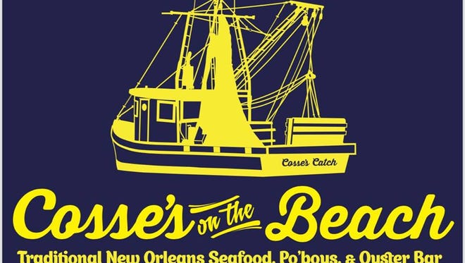 Cosse's on the Beach New Orleans-style restaurant opens on Pensacola Beach around Memorial Day weekend.