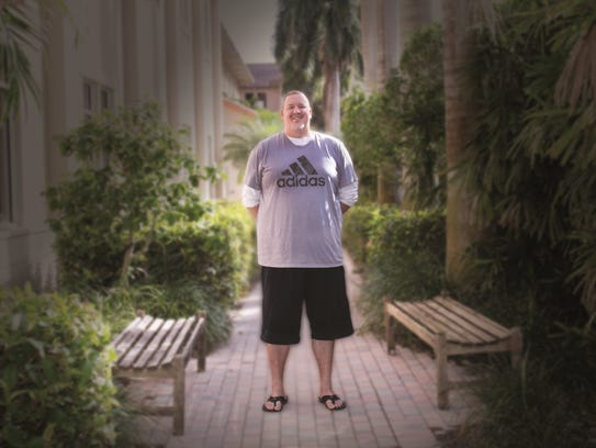 At his heaviest, Fred Longar was 328 pounds. He chose