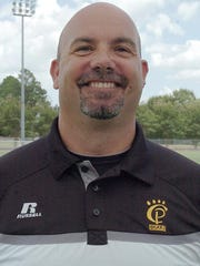 Church Point head coach J.C. Arceneaux
