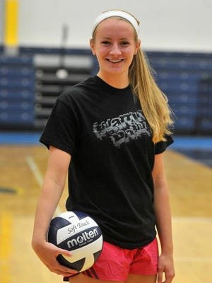 West's Lauren Conley was a second team all- Wisconsin Valley Conference selection last season.