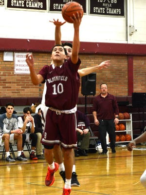 Michael Ramos scored 14 points for Bloomfield in a win over Livingston.