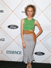 Elaine Welteroth attends the 2018 Essence Black Women In Hollywood Oscars Luncheon at Regent Beverly Wilshire Hotel on March 1, 2018 in Beverly Hills, California.