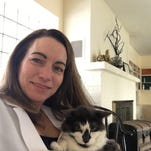 Veterinarian Kristin Holm specializes in animal dermatology at her Johnston practice Veterinary Dermatology Consultation Services.