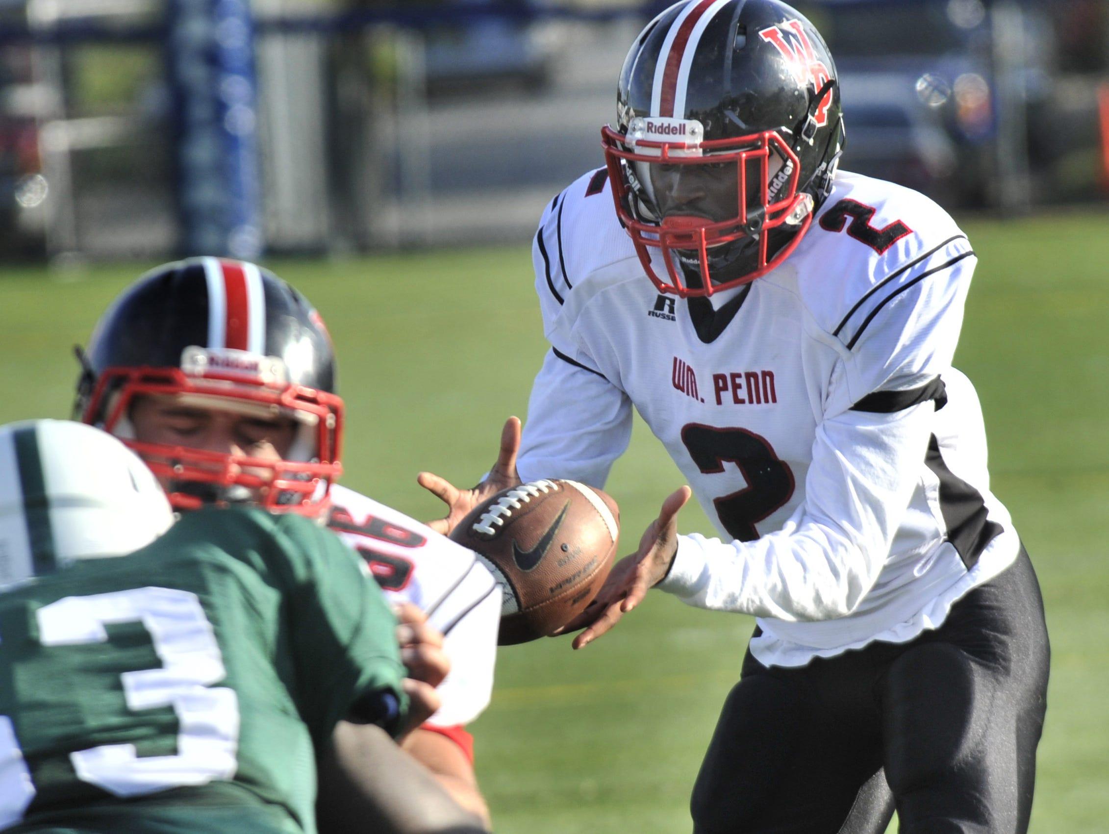 Quarterback Chigozirim Amachi and William Penn are ranked No. 1 in Division I.