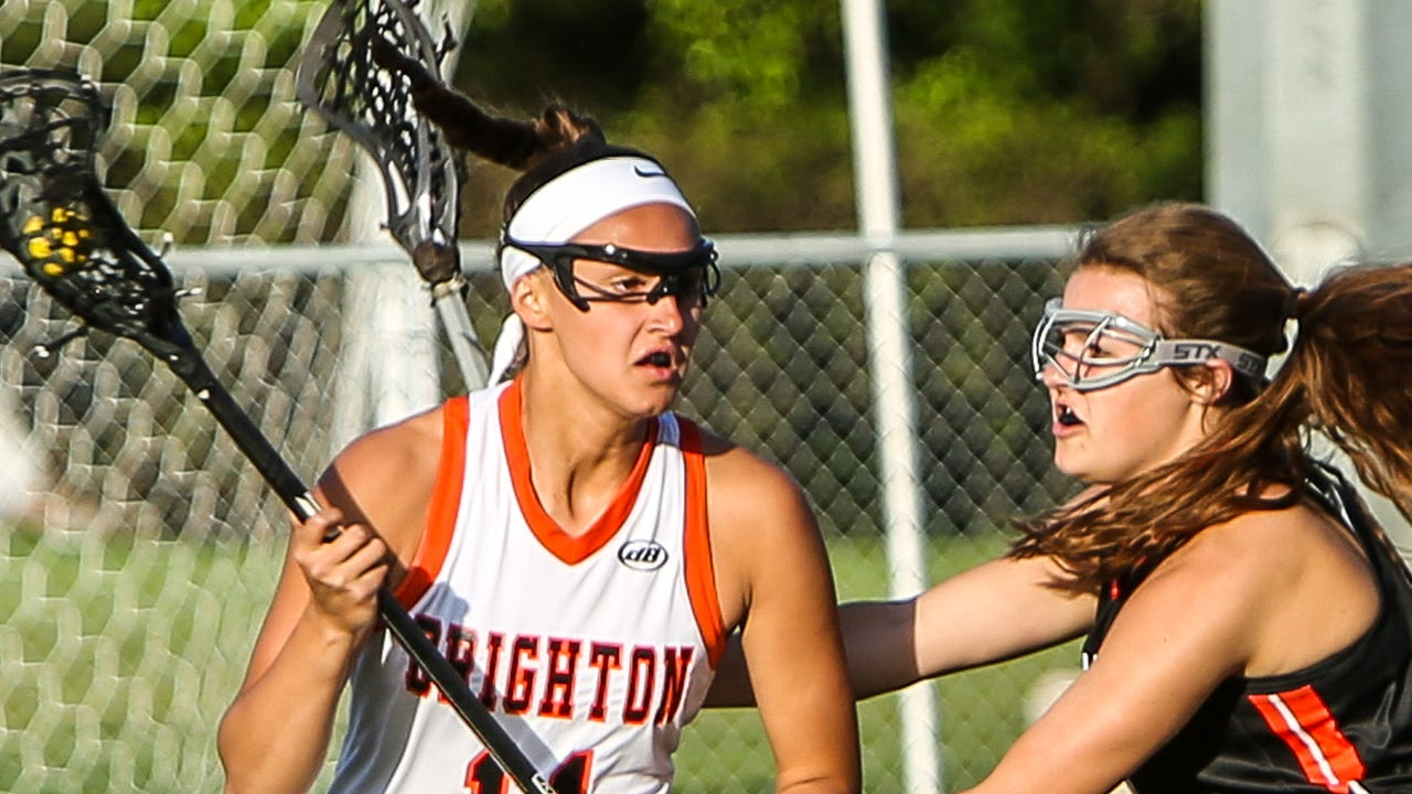 Highlights and interviews from Brighton's 20-12 victory over Northville in the KLAA Association championship girls' lacrosse game.