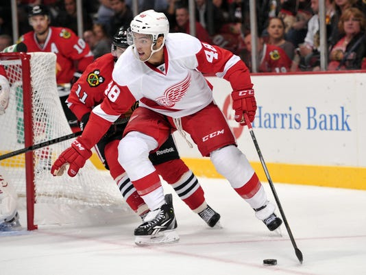 NHL: Preseason-Detroit Red Wings at Chicago Blackhawks