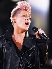 Pink will perform the National Anthem at Super Bowl LII.