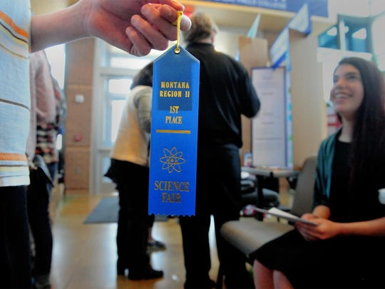 At last year's Region II science fair, 231 science projects were entered by over 350 students in grades 6-12 from schools around northcentral Montana.