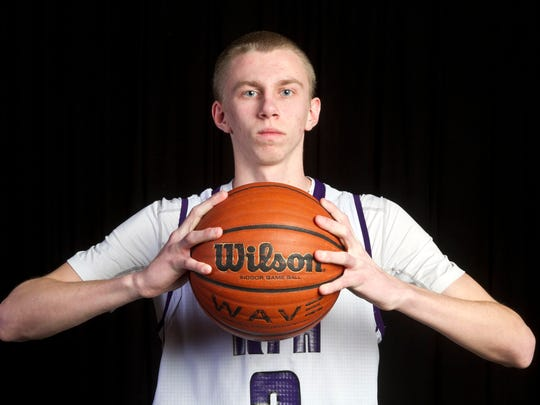 All-Shore Boys Basketball Player of the Year Brendan Barry of Rumson-Fair Haven
