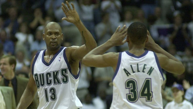 Former Bucks stars Glenn Robinson and Ray Allen provided many memorable moments at the BMO Harris Bradley Center.