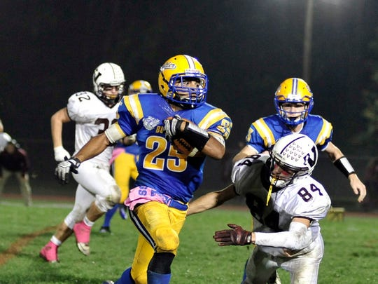 Butler running back Will Verrico was named to the West