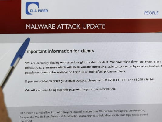 New ransomware affects computers around the world