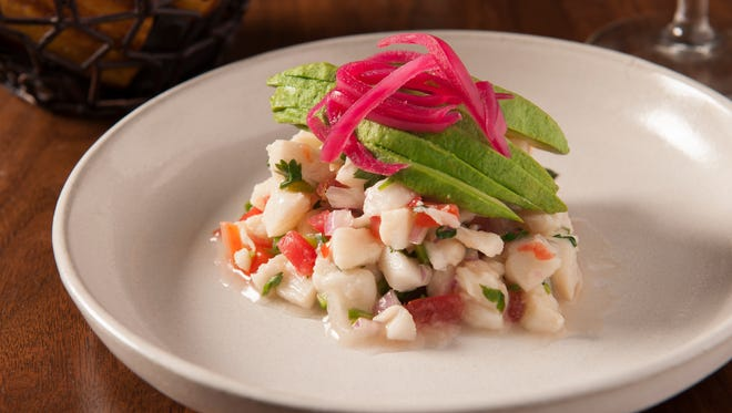 The Ceviche Blanco at Toca Madera, opened at Scottsdale Fashion Square.