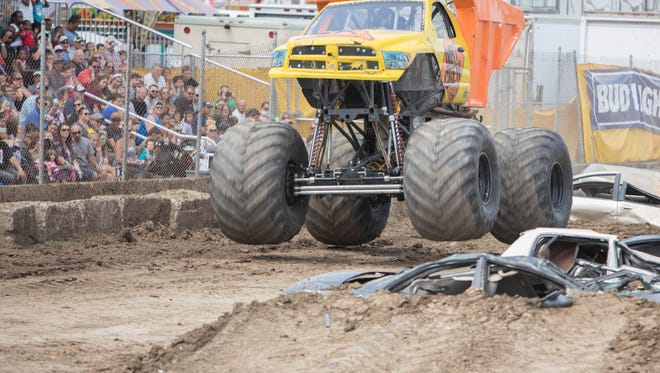 Monster trucks were new to the Ozaukee County Fair in 2017. They were a huge hit and will return this year.