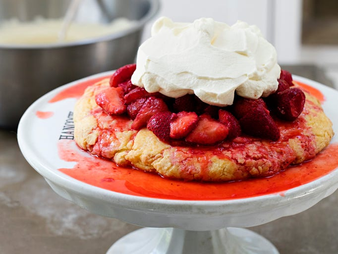 Strawberry shortcake from the Canal House featured