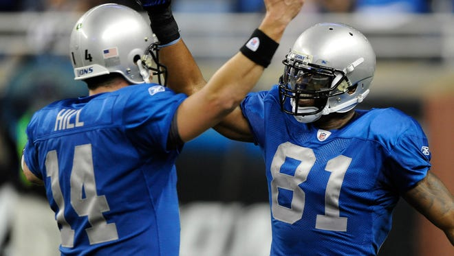 The last time the Lions wore throwback uniforms was in a 2010 game against the Patriots on Thanksgiving Day.