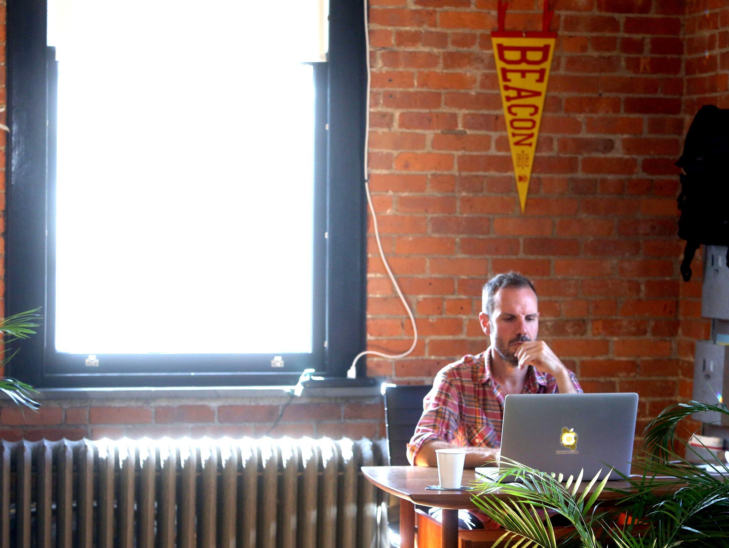 Scott Tillitt, founder of The Beahive, a shared workspace