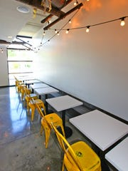 Rook's narrow 719 Virginia Ave. space seats just 32