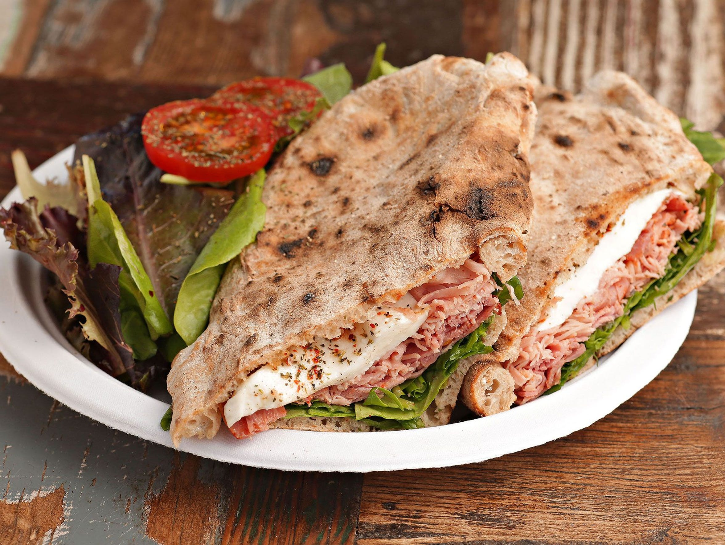For a quick bite at lunchtime, Noble Eatery's simple sandwiches, vegetables and pizzas are beautifully crafted and built to satisfy and carry you through the day.