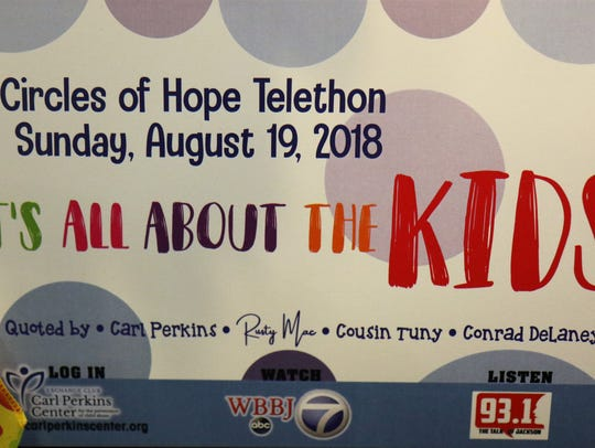 The 35th Annual Circles of Hope Telethon was held to
