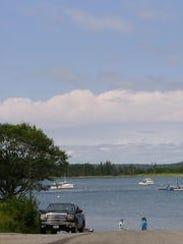 Maine boat ramp