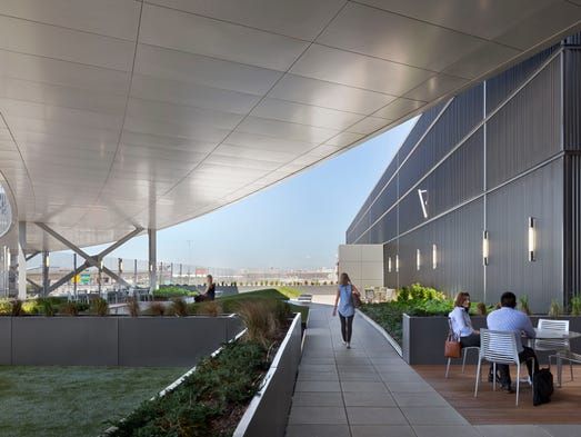 This image provided by Gensler shows JetBlue's new