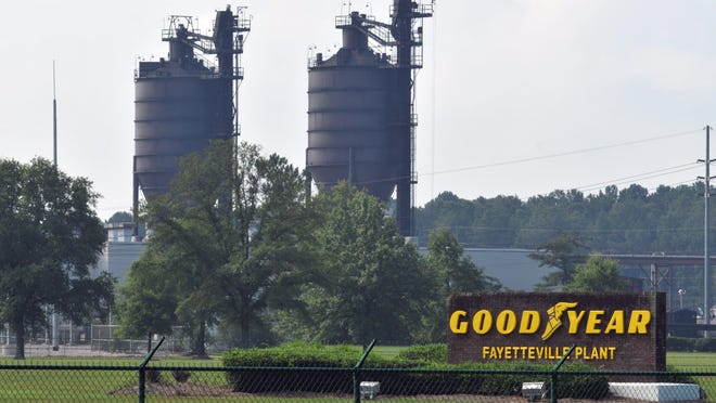 The Westarea Fire Department helped put out a fire Saturday night at the Goodyear Tire & Rubber plant on Ramsey Street. An official said it started in machinery that mixes rubber for tires.