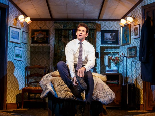 Andy Karl, who stars as Phil Connors in 'Groundhog