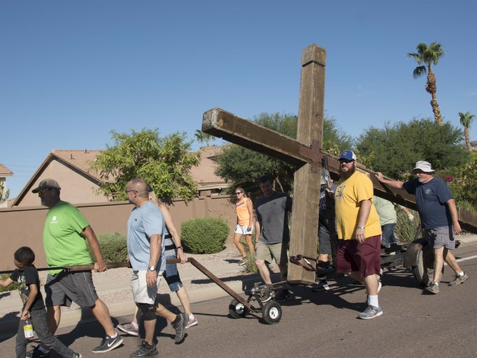 Members of Mountain Park Community Church in Ahwatukee
