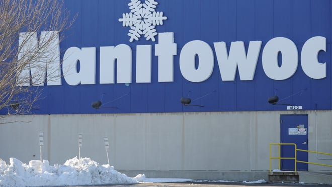 FILE - This Dec. 22, 2012, file photo shows the exterior of Manitowoc Ice in Manitowoc, Wisc. Investor Carl Icahn bought a stake in the company and called for splitting up its business units. (AP Photo/Herald-Times Reporter, Matthew Apgar, file)  ORG XMIT: WIMAN101
