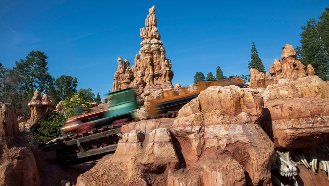 Big Thunder Mountain Railroad is one of the many attractions updated with FastPass scanners.