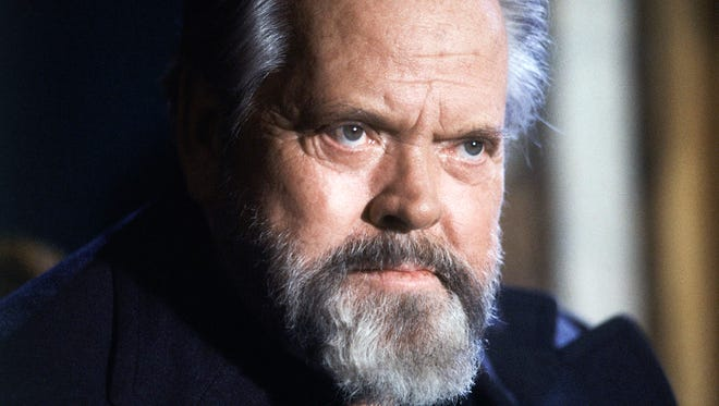 This Feb. 22, 1982 file photo shows actor and movie director Orson Welles during a press conference in Paris.