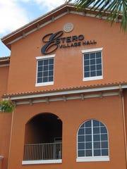 Estero Village Hall.