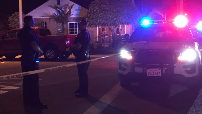 Oxnard police investigate a shooting that was reported at 9:50 p.m. Saturday in the 1000 block of King Street.