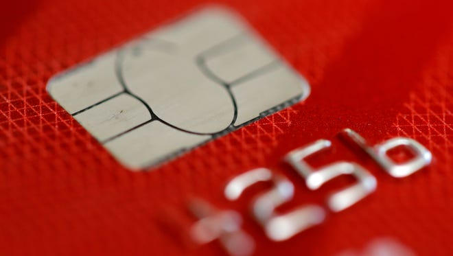 A credit card in Philadelphia. A growing number of credit card companies are using artificial intelligence software to convince customers to use their credit card points in a certain way, be it redeeming their points for travel, dining, shopping or gift cards, with the goal of keeping those customers spending more and loyal to their cards.