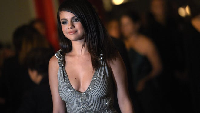 Actress-singer Selena Gomez attends the 2014 LACMA Art + Film Gala honoring Barbara Kruger and Quentin Tarantino presented by Gucci at LACMA on November 1, 2014 in Los Angeles.