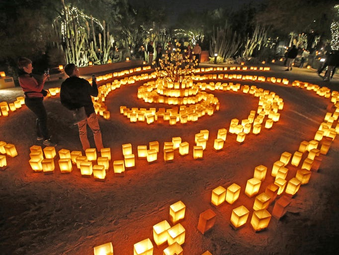 Through 12/31: LAS NOCHES DE LAS LUMINARIAS | Enjoy